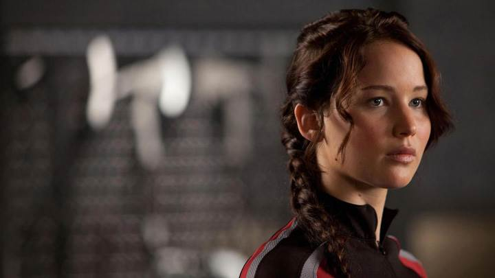 The Hunger Games – Jennifer Lawrence Sad Face